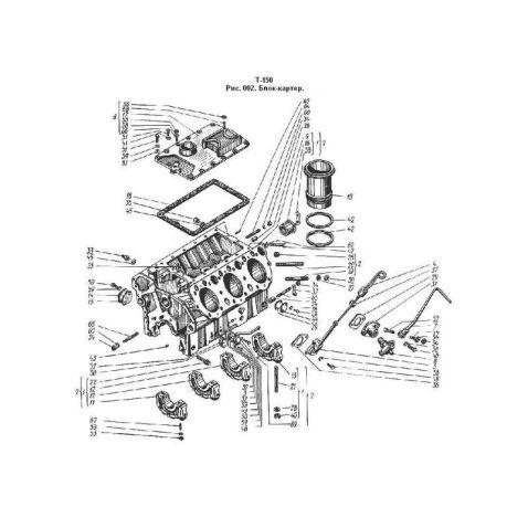 60-01002.21 Блок-картер  СМД-60(шт) купить в интернет-магазине Мотор-Агро Харьков Украина