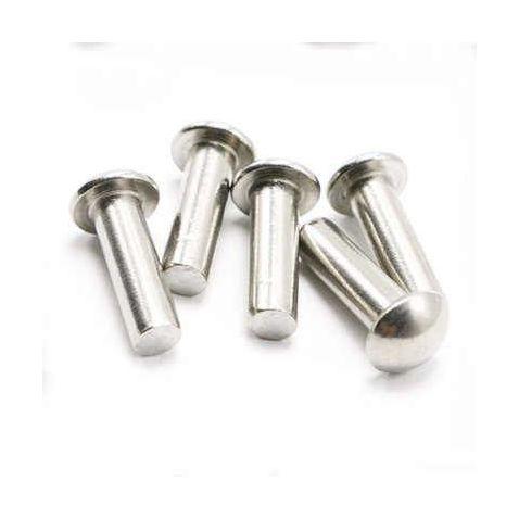ф5*18 Заклепка стальная полукруг ф5*18(кг) купить в интернет-магазине Мотор-Агро Харьков Украина
