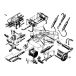 Hydraulic chassis and steering control
