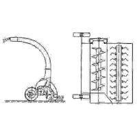 ᐉ Rotary mower-shredder KIR-1.5 from Motor-Agro