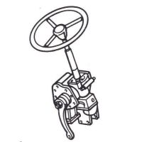 Poluramy front axle, steering