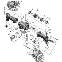 ᐉ Front axle and cardan drive from Motor-Agro