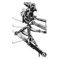 ᐉ Rear linkage from Motor-Agro