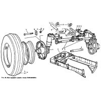 ᐉ Front Axle NLO, frame from Motor-Agro