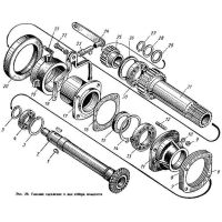 Buy spare parts for clutch tractor models T-16 and T-25