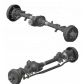 Axle front and rear uaz