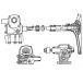 Power assisted steering UAZ