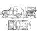 Cab and bodywork UAZ