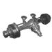 Axle front and rear axle ZIL