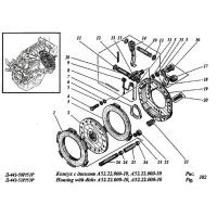 ᐉ Clutch A-41 from Motor-Agro