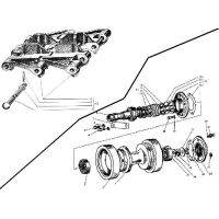 ᐉ Roller supports, caterpillar from Motor-Agro