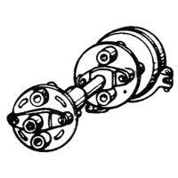 ᐉ Transmission cardan from Motor-Agro