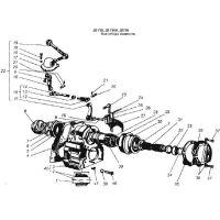 ᐉ PTO, HUM, Reverse gear from Motor-Agro
