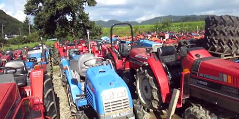 Mini tractors from China